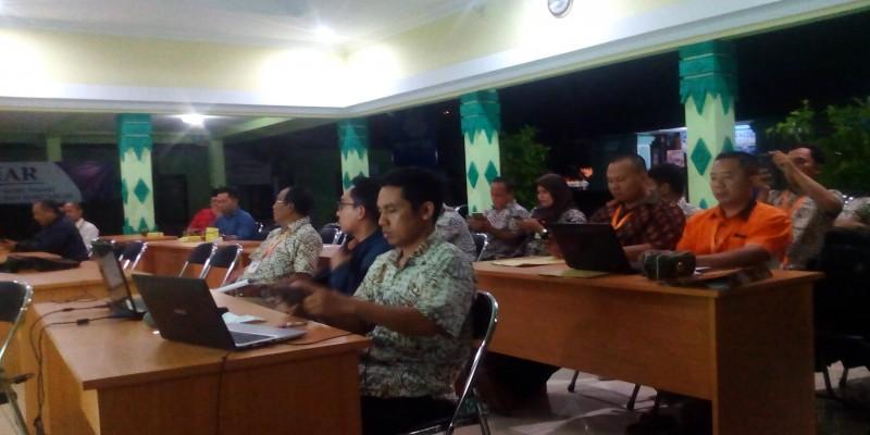 Rapat Pleno Rekapitulasi DPTHP 1