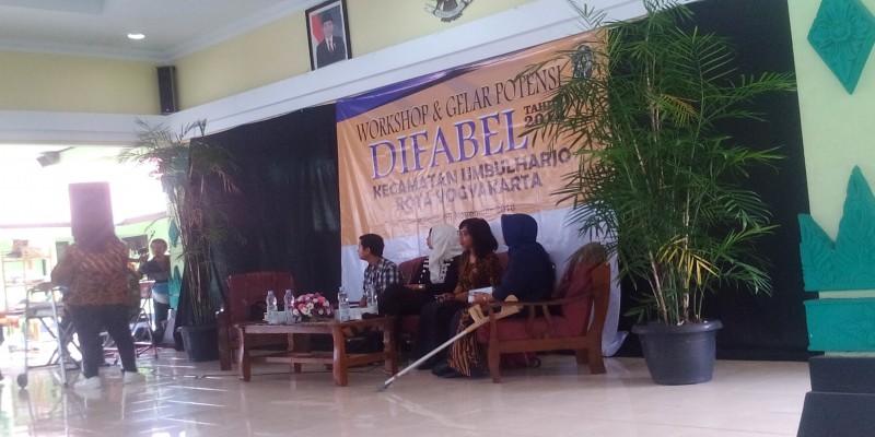 Workshop dan Gelar Potensi Difabel