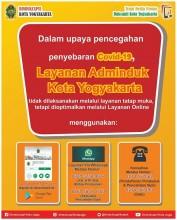 Alur Layanan Adminduk Kota Yogyakarta Selama Pandemi Covid-19