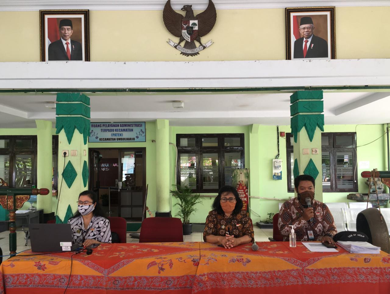 Pertemuan Penyuluhan Program KKBPK Kecamatan Umbulharjo