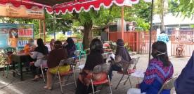 Penyaluran Bansos Sosial Tunai (BST) Tahun 2021 Kemantren Umbulharjo