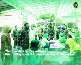 Wakil Walikota Yogyakarta Buka Pelayanan KB Serentak Sejuta Akseptor