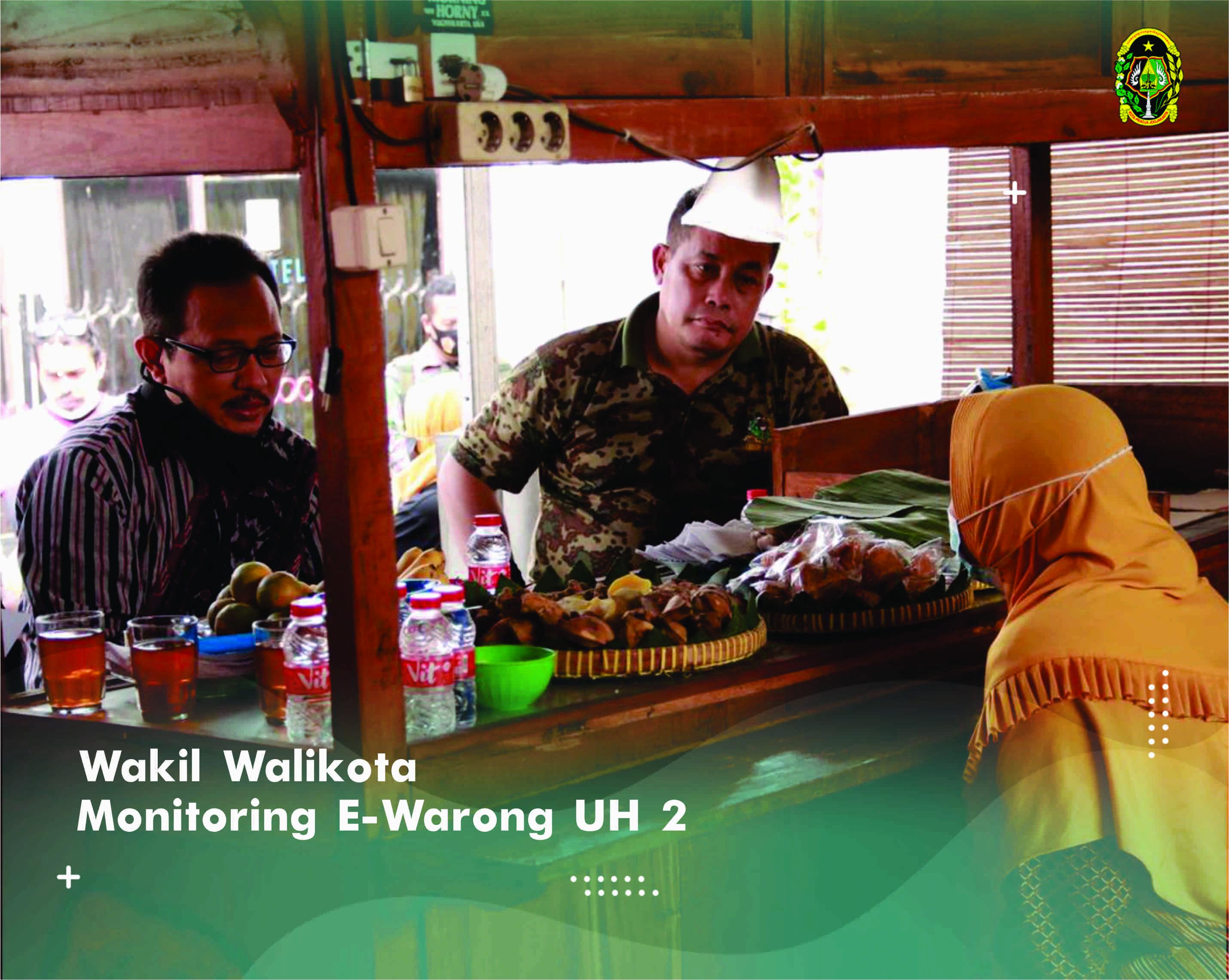 Wakil Walikota Monitoring  E-Warong UH 2