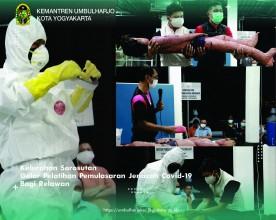 Kelurahan SorosutanGelar Pelatihan Pemulasaran Jenazah Covid-19 Bagi Relawan