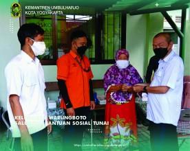 Kelurahan Warungboto Salurkan Bantuan Sosial Tunai