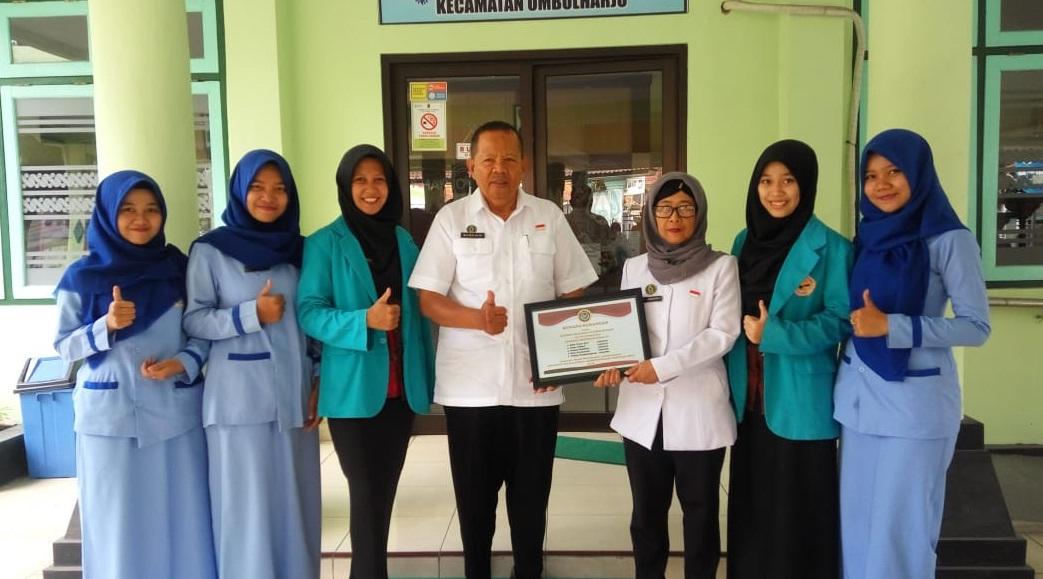 Praktek Orientasi Kerja IV di Kecamatan Umbulharjo Oleh Mahasiswi AMA Yogyakarta 2018